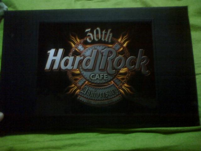 ハードロックカフェ30thアニバーサリーピンセット